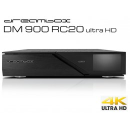 DREAMBOX DM900 RC20 UHD 4K TRIPLE 2xDVB-S2X 1xDVB-T2/C