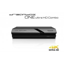 Dreambox One Ultra HD COMBO 4K 1x DVB-S2X MIS 1xDBV-T2/C
